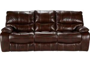 sofa togo home brown leather reclining sofa leather sofas brown