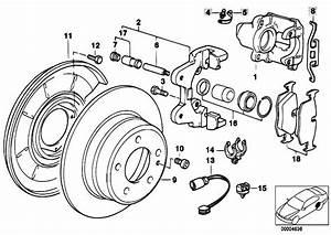 Original Parts For E36 316i 1 9 M43 Compact    Brakes   Rear