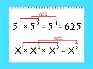 Adding Numbers with Variable Exponents