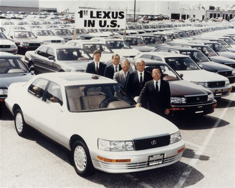 first lexus model the very first lexus to make it onto us soil was the ls400