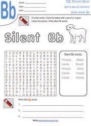 free printable worksheets silent letters