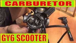 Scooter   Motorcycle   Atv    Moped Gy6 150cc Carburetor
