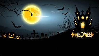 Halloween Scary Background Wallpapers Computer Moon Windows