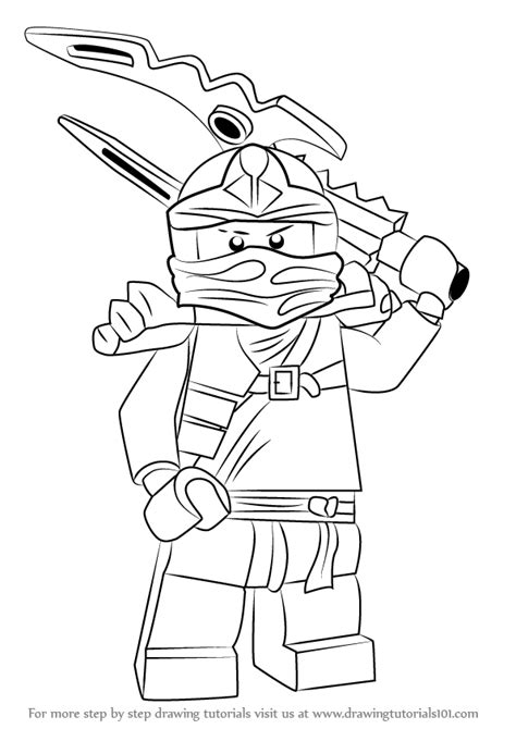 step  step   draw jay  ninjago