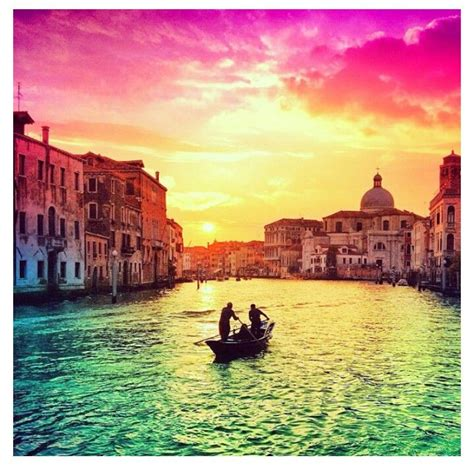 Venice Italy Sunset Cute Little Things Pinterest