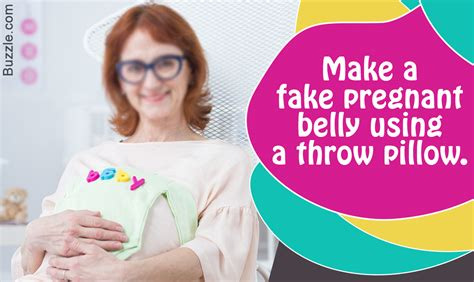 How To Make A Fake Pregnant Belly And Shock Your Family