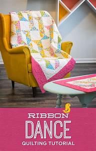 Ribbon Dance Quilt Tutorial