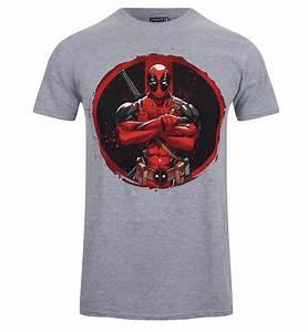 T Shirt Pour Homme : t shirt pour homme marvel deadpool gris merchandise fr ~ Farleysfitness.com Idées de Décoration