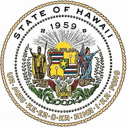 Hawaii State Commerce Consumer Department Affairs Seal