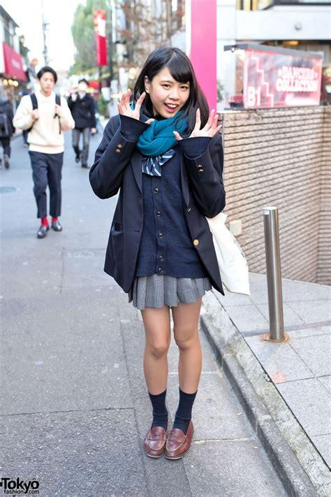 harajuku girl  japanese school uniform  dc comics tote bag