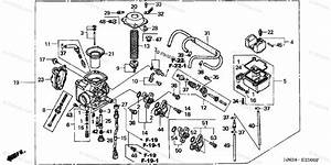 Honda Atv 2002 Oem Parts Diagram For Carburetor