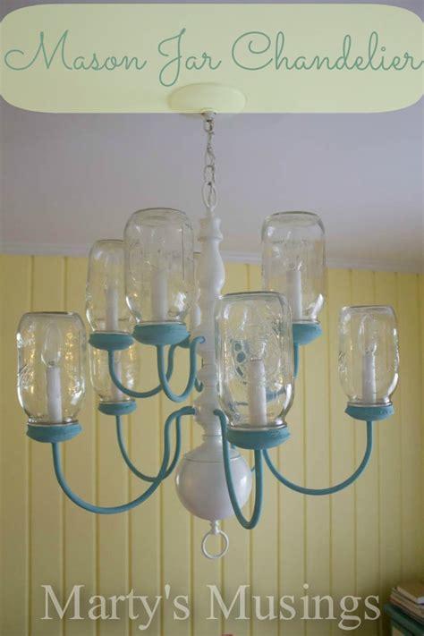 diy jar chandelier