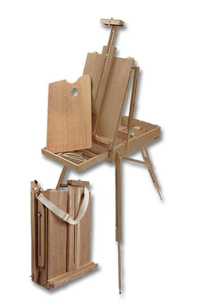 french easel watercolor woodworking projects plans