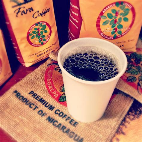 Their coffee comes from their own farms in nicaragua and then gets roasted and packaged wholesale in usa. Fara Coffee - Craft Roasted in Austin, Texas (With images) | Coffee crafts, Premium coffee ...