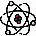 Science Atom Physics Nuclear Clipart Icon Atomic