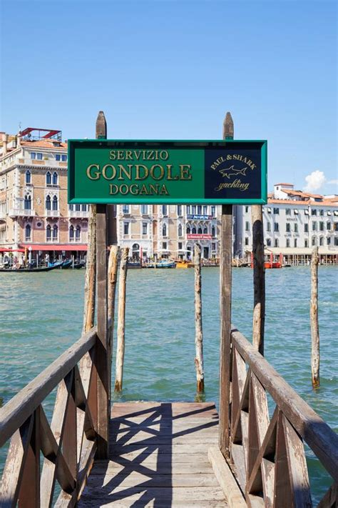 Green Water And Grand Canal In Venice Italy Europe