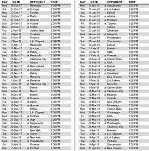Spurs Release Full 2017 18 Schedule Pounding The Rock