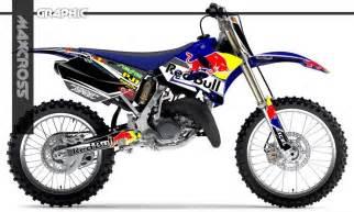 kit deco bull 125 yz yamaha yz125 yz250 2002 2014 maxcross graphics kit maxcross bull ticker decals ebay
