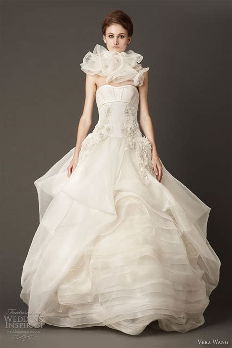 vera wang wedding dresses fall  wedding inspirasi