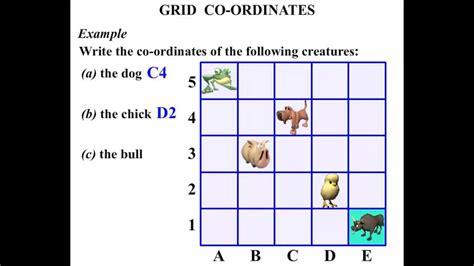 grade math tutorials grid  ordinates youtube