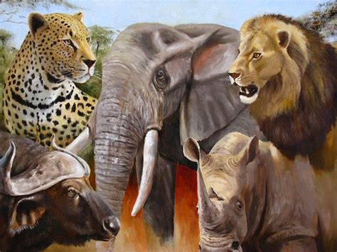 What Are The Big Five Animals Of Africa?