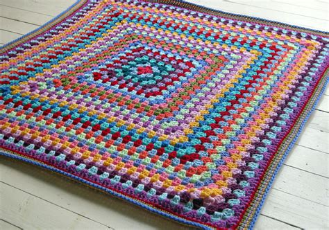 Average Size Of A Crochet Baby Blanket