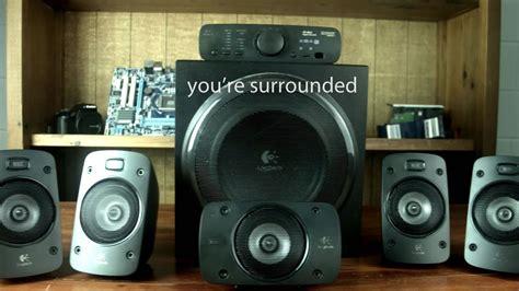 5 1 surround system logitech z906 5 1 surround speaker system review