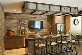 Rustic Home Bar Designs by 100