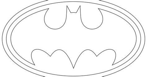 batman logo outline  print   symbols