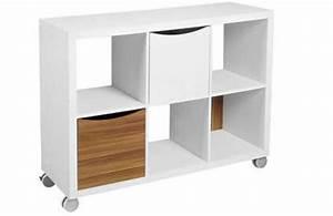 Bibliothèque Sur Roulette : 8 meubles pour am nager un studio petit prix d co cool ~ Teatrodelosmanantiales.com Idées de Décoration