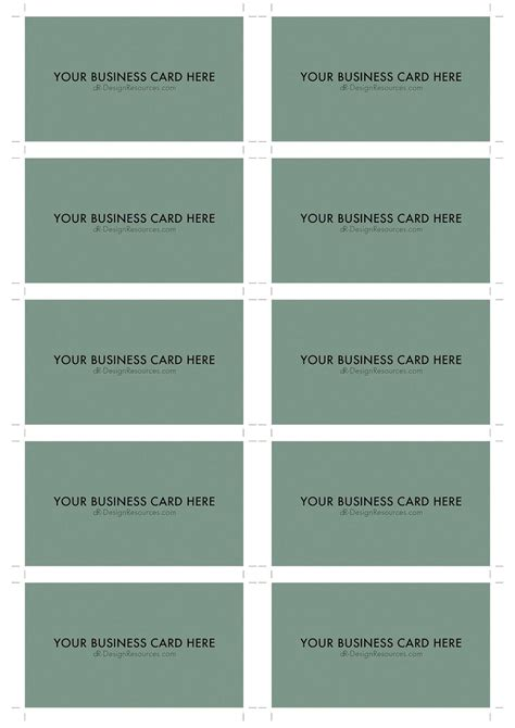 business card size template pdf 10 business card template 10 business card design and