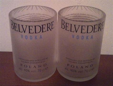 sta su bicchieri vetro bicchieri bottiglia belvedere tumbler vetro per la
