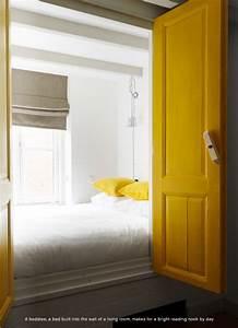 Lit Bébé Petit Espace : lit alc ve porte jaune id e pour petit espace chambre l ana pinterest maison alc ve ~ Melissatoandfro.com Idées de Décoration