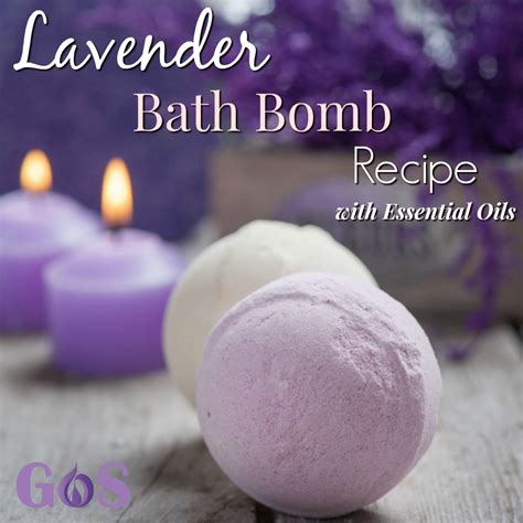 diy lavender bath bomb recipe  essential oils