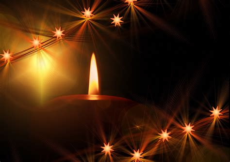 great candle themed  christmas wallpaper  xmas
