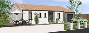 Porche Entrée Maison : maison plain pied avec porche d 39 entr e cp08 ~ Premium-room.com Idées de Décoration