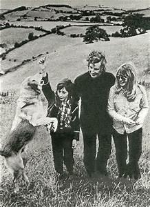Cynthia Lennon and John Twist with her son, Julian Lennon ...