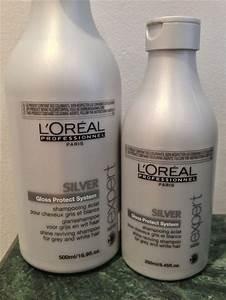 L39Oreal Professionnel SILVER Shampoo For Grey Or White