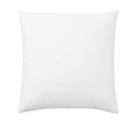 feather pillow insert pottery barn