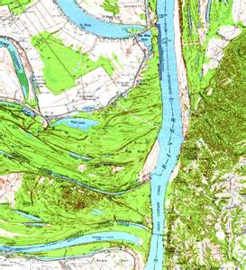 Mississippi Topographic Map