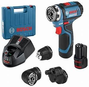 Bosch Blau Set : bosch professional akku bohrschrauber gsr 12v 15 fc in koffer mit 1x 2 0 ah akku zubeh r set ~ Eleganceandgraceweddings.com Haus und Dekorationen