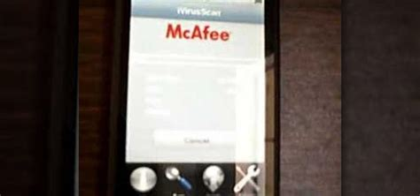 how to scan your iphone for viruses how to get mcafee ivirusscan on to your iphone or ipod