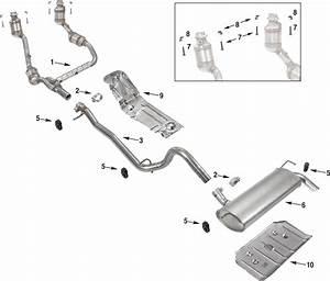 Catalytic Converter 2005 Jeep Wrangler Parts Diagram  Jeep  Auto Wiring Diagram