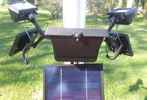 commercial led solar flagpole light wholesale product