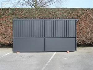 Portail 4 5 M Coulissant : portail coulissant elia de 3 00x1 80m fer forg anti ~ Edinachiropracticcenter.com Idées de Décoration