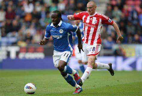 Soccer – Barclays Premier League – Wigan Athletic v Stoke ...