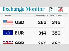 Exchange Rate as of today, July 1st for Naira, Dollar