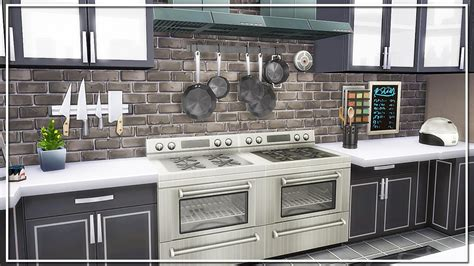 sims  build modern kitchen youtube