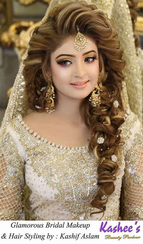 pakistani bridal makeup  kashees beauty parlour