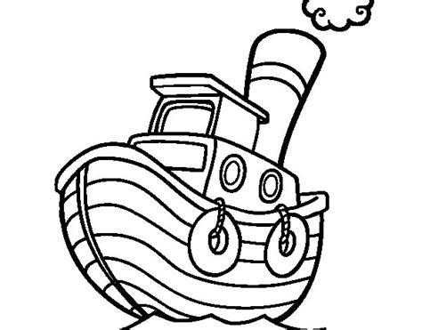 Barco Dibujo Infantil by Dibujo De Barco De Madera Para Colorear Dibujos Net